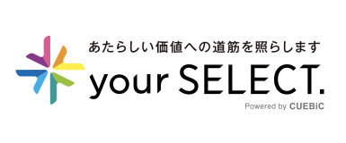 your SELECT.のロゴ