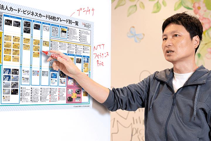 法人カード菊地さん取材MV